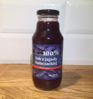 Sok z jagody kamczackiej