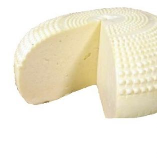 Ser biały i żółty