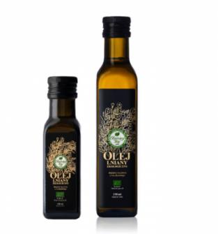 Olej lniany ekologiczny 250 ml