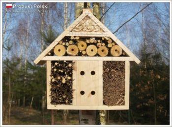 Warsztaty budowania domków dla owadów